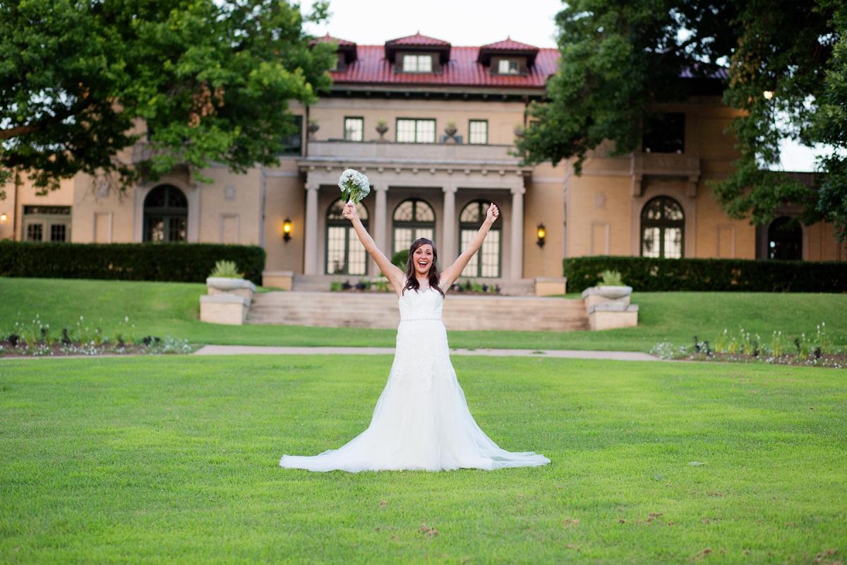 bridal photo in tulsa oklahoma