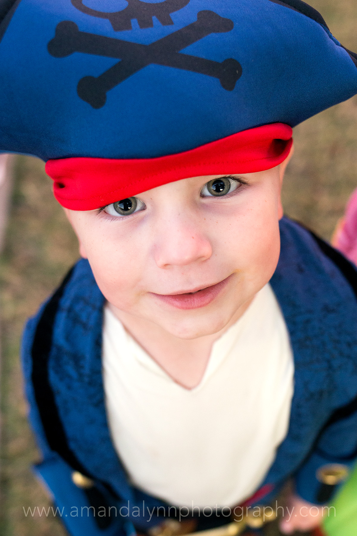 little boy dressed as pirate in stillwater oklahoma