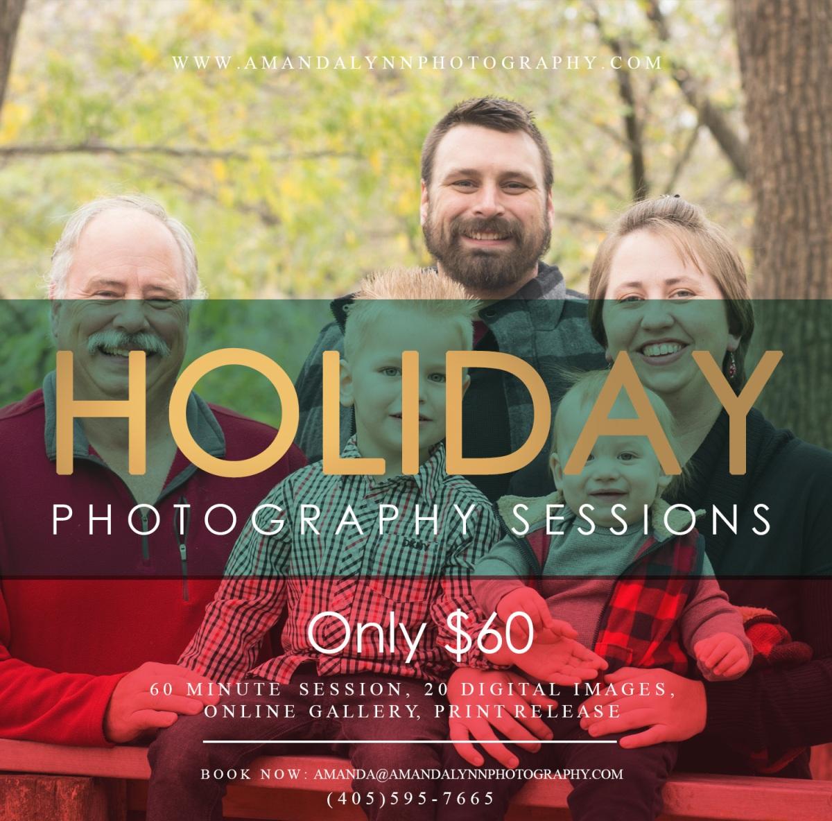 Holiday Session Amanda Lynn Photography Harrah Oklahoma