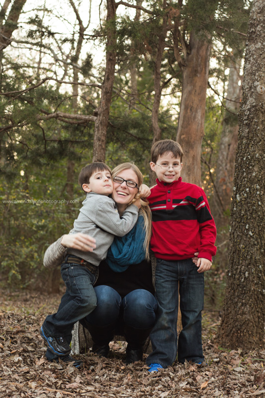 mother and two sons in norman oklahoma