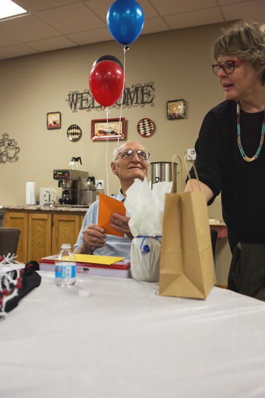 grandfather's 90th birthday celebration in dewey oklahoma