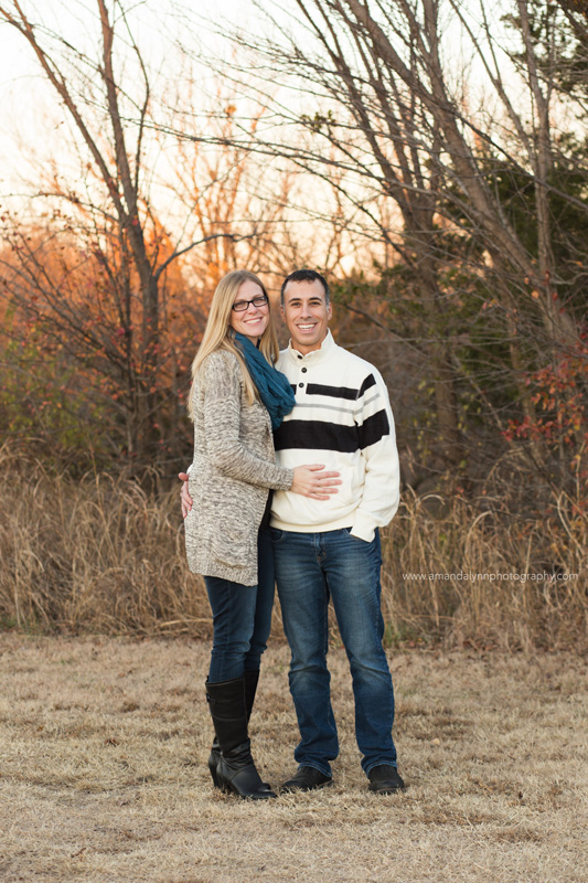 couple posing for Family Photos in norman oklahoma