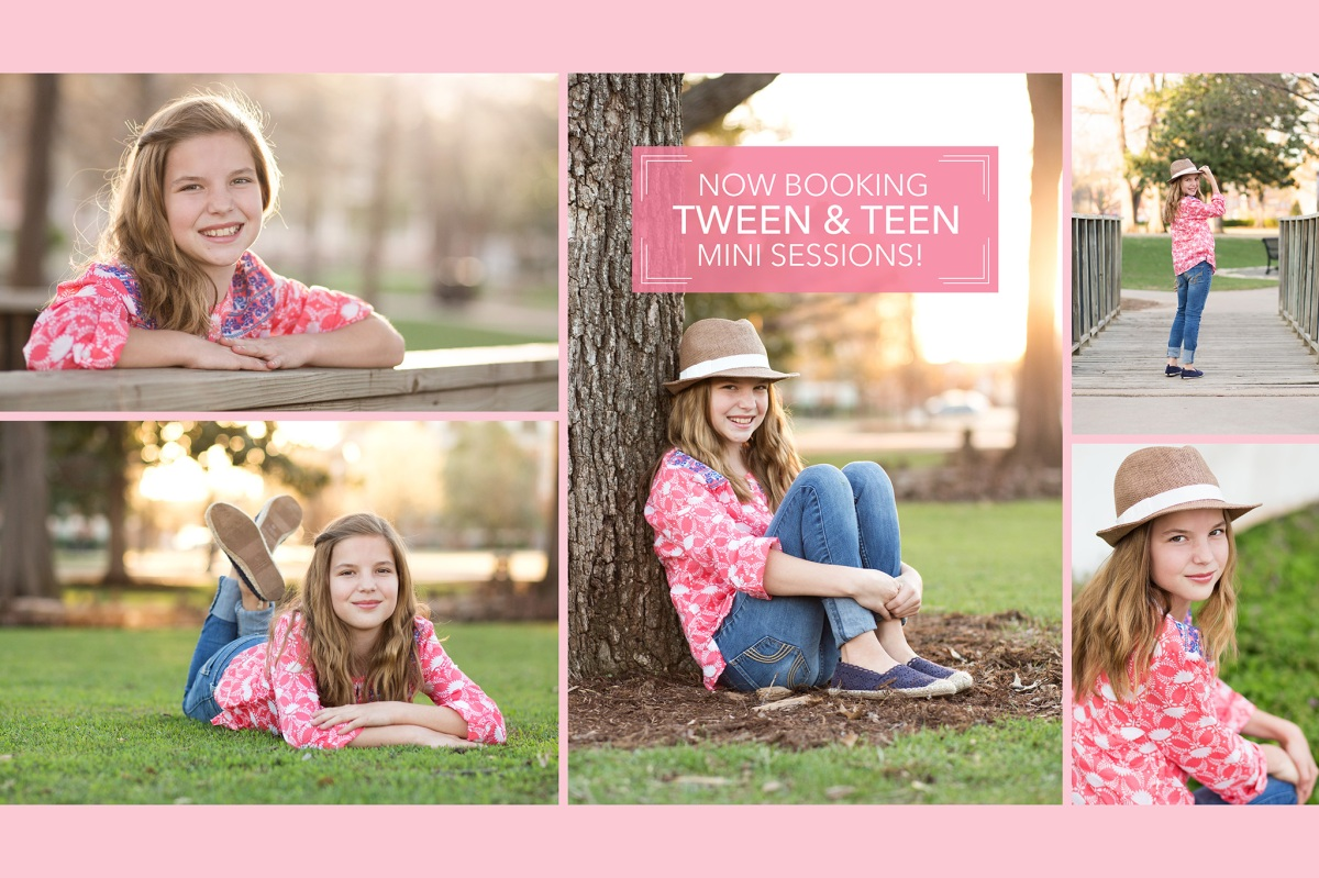 Tween & Teen Spring Mini Sessions Harrah Oklahoma Photographer