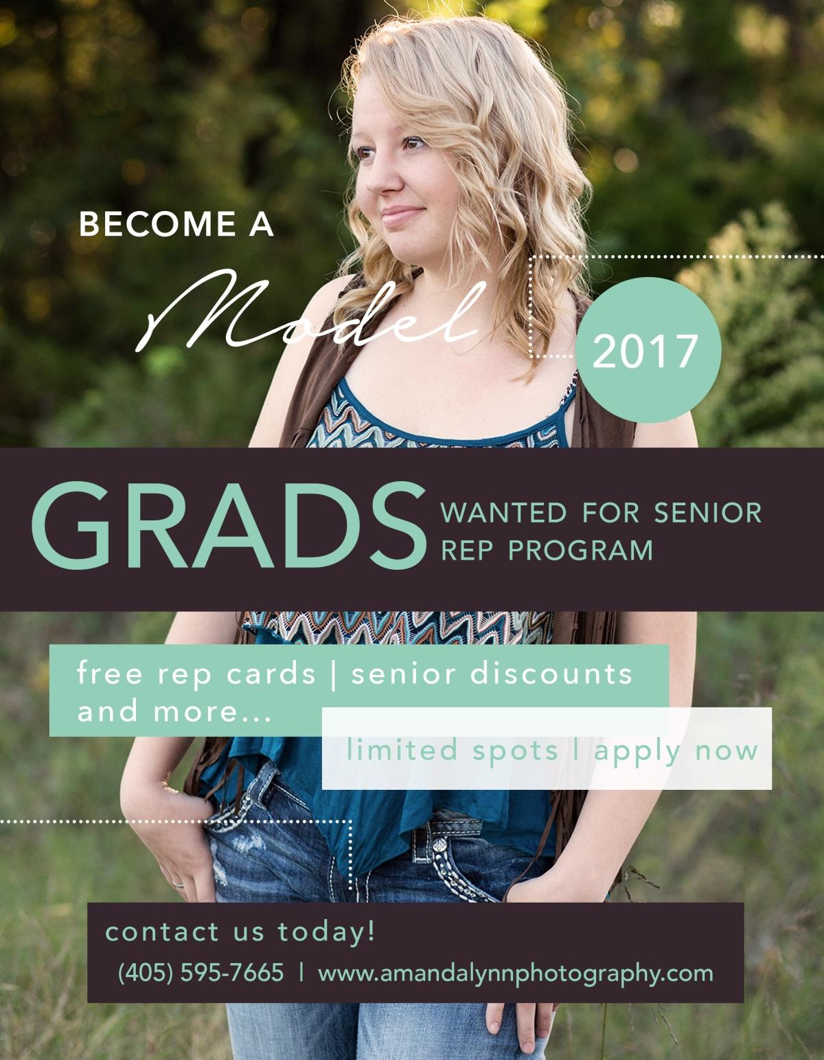 Amanda Lynn Photography Senior Rep Program Harrah Oklahoma