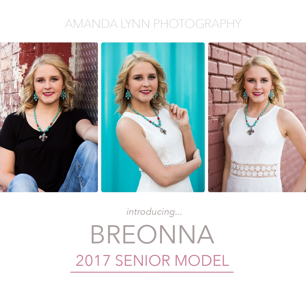 2017 Senior Rep for Amanda Lynn Photography