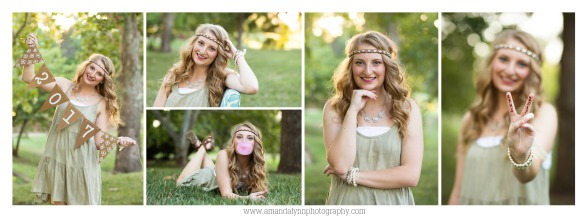 2017 High School Senior girl featured gallery from Will Rogers Park in Oklahoma City Amanda Lynn Photography
